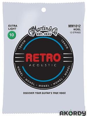 MARTIN Retro .010/.047 12str