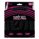 ERNIE BALL Coil Cable Straight/St 30' - black - 1/2