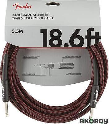 FENDER Professional Series 18.6' Instrument Cable  - 1