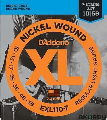 D'ADDARIO EXL110-7 .010/.059 7str. - 1