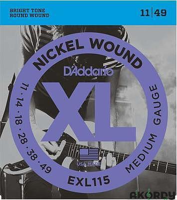 D´ADDARIO EXL115 .011/.049 - 1