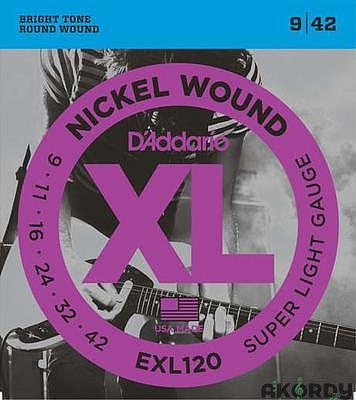 D'ADDARIO EXL120 .009/.042 - 1
