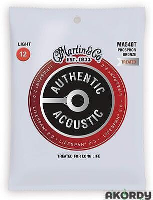 MARTIN Authentic Lifespan 2.0 92/8 Phosphor Bronze