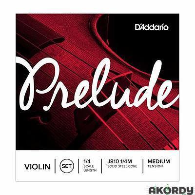 D'ADDARIO Prelude J810 1/4 M