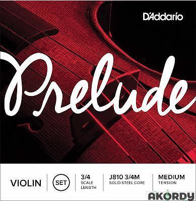 D'ADDARIO Prelude J810 3/4 M