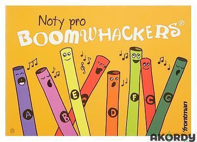 Zpěvník FRONTMANN pro Boomwhackers