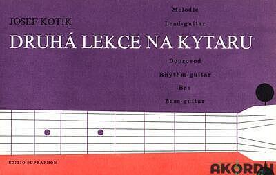 Druhá lekce na kytaru