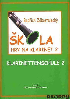 Škola hry na klarinet II