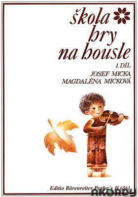 Škola hry na housle - 1. díl