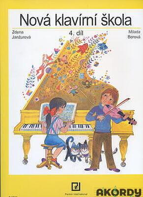 Nová klavírní škola 4. díl