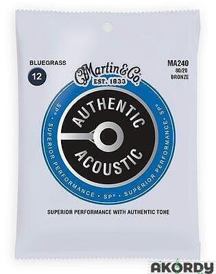 MARTIN Authentic SP 80/20 Bronze Bluegrass