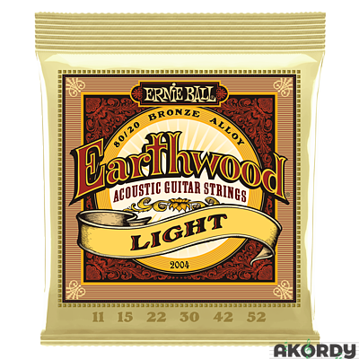 ERNIE BALL Earthwood 80/20 .011/.052 - 1