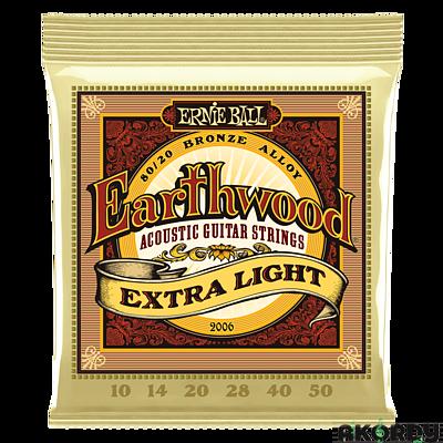 ERNIE BALL Earthwood 80/20 .010/.050 - 1