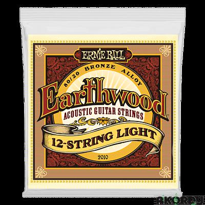 ERNIE BALL Earthwood 80/20 .009/.046 12str. - 1