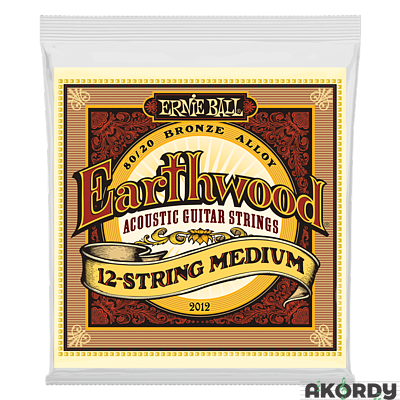 ERNIE BALL Earthwood 80/20 .011/.052 12str. - 1