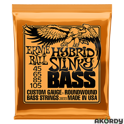 ERNIE BALL 4-string Slinky Bass .045/.105 - 1
