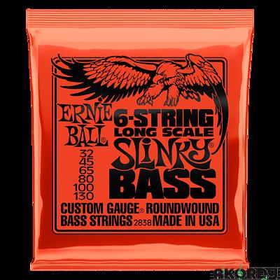 ERNIE BALL 6-string Slinky Bass .032/.130 - 1