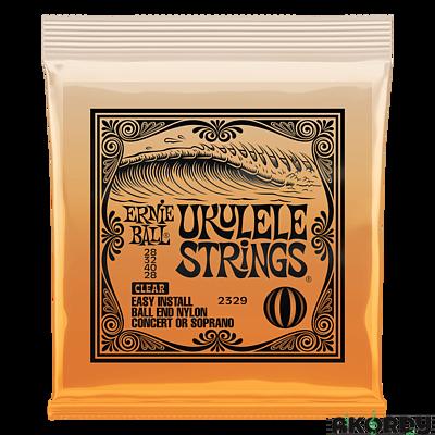 ERNIE BALL Ukulele Strings Clear Nylon - 1