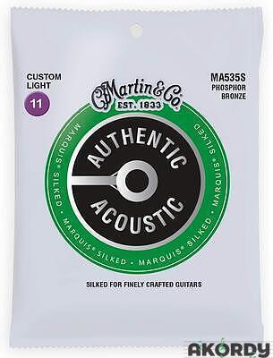 MARTIN Authentic Marquis 92/8 Phosphor Bronze Cust - 1