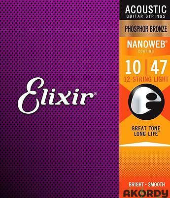 ELIXIR Nanoweb PB .010/.047 12str. - 1