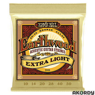 ERNIE BALL Earthwood 80/20 .012/.054 - 1