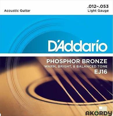 D'ADDARIO EJ16 .012/.053 - 1