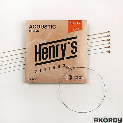 Henry's Strings HAB1047 .010/.047 - 1