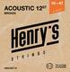 Henry's Strings HAB12ST10 .010/.050 12.str - 1/3