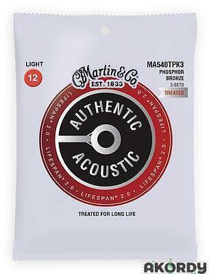 MARTIN Authentic SP PB .012/.054 3-pack - 1