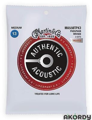 MARTIN Authentic SP PB .013/.056 3-pack - 1