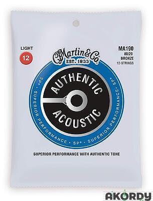 MARTIN Authentic SP 80/20 .012/.054 12str