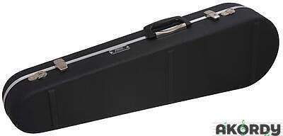 HISCOX Shaped Violin Case - Black/Silver - 2