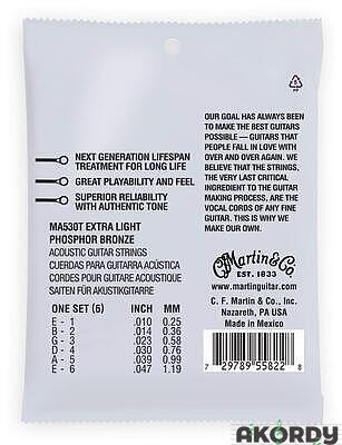 MARTIN Authentic Lifespan 2.0 92/8 Phosphor Bronze - 2