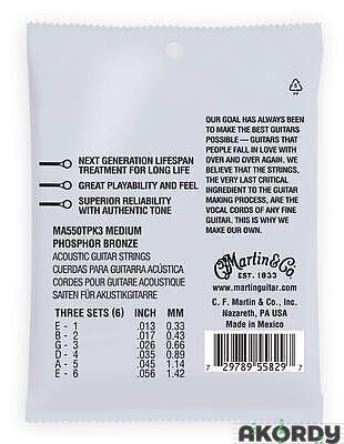 MARTIN Authentic SP PB .013/.056 3-pack - 2
