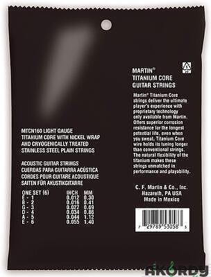 MARTIN Titanium Core Light - 2