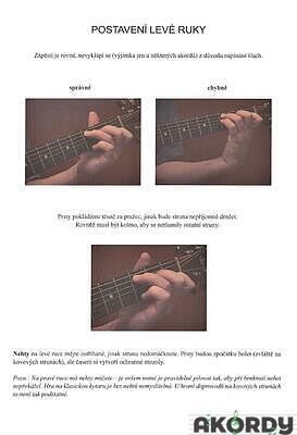 Jak hrát na kytaru doprovody k písním - 3