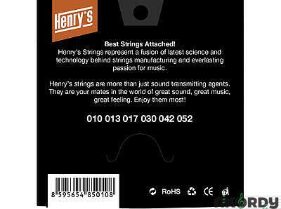 Henry's Strings HEN1052 .010/.052 - 3