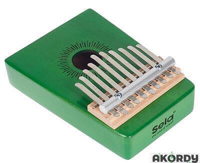 SELA Kalimba Mahogany 10 Green - 3
