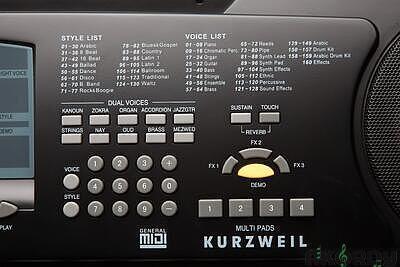 KURZWEIL KP120 A - 6